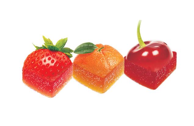 Φρούτα σε ζελέ